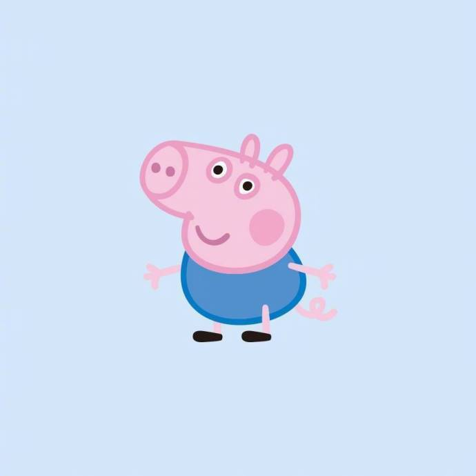 小猪佩奇 情侣头像 转发脱单