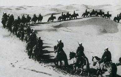 苏联改变援助物质交接地点, 西路军从此孤军西进!