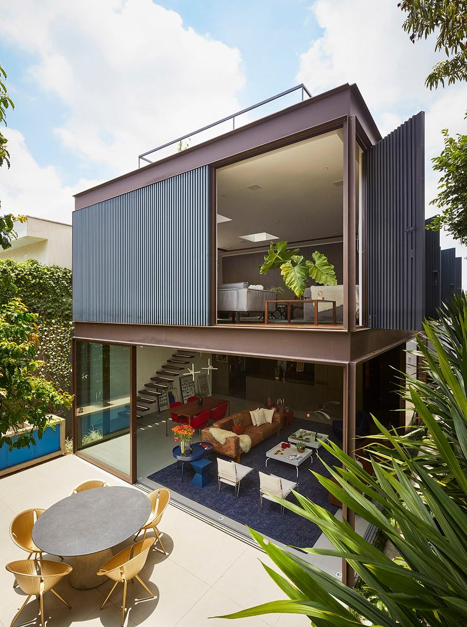 住宅设计:周边不扬,然室内别墅双层!20mx10m别墅钢结构外貌另有揭阳乾坤图片
