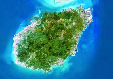终于知道海南岛怎么来的了,原来是从广西分离出去的