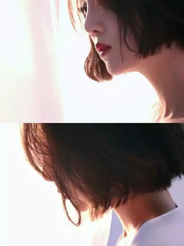 她的短发不逊色于高俊熙图片