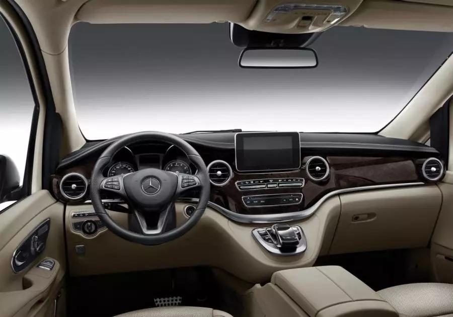 奔驰将上市新款V-Class,外观配色酷雅,这次价格终于良心了!