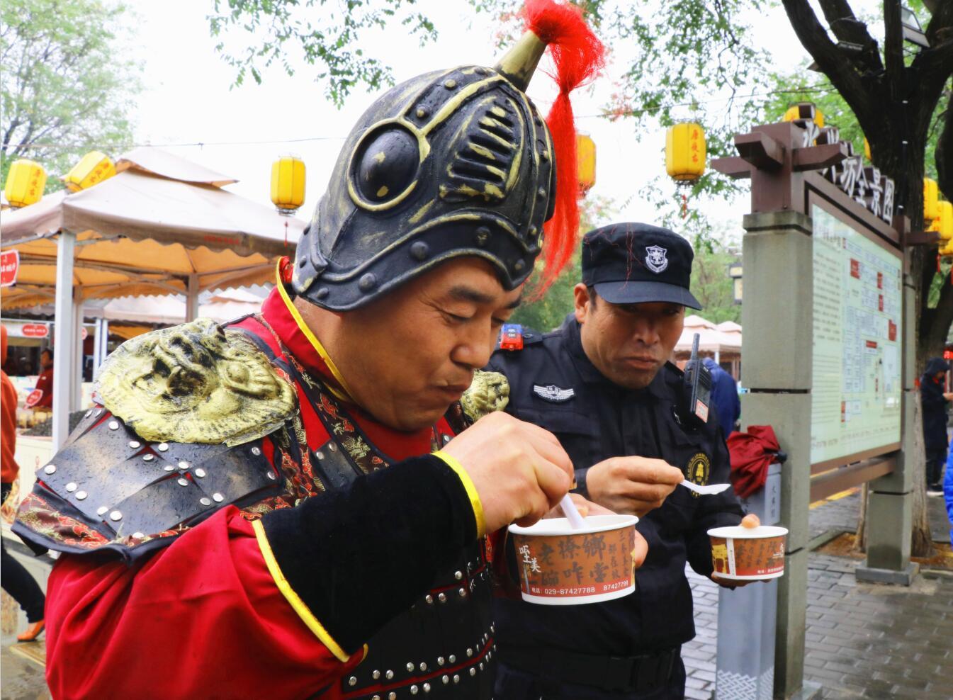 立冬日 永兴坊品味匠心非遗 传承民俗文化