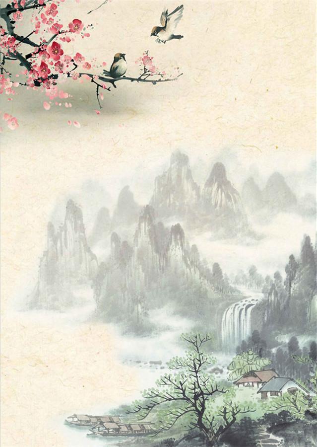 十首描写水的经典古诗词,一片清江水,中涵万古