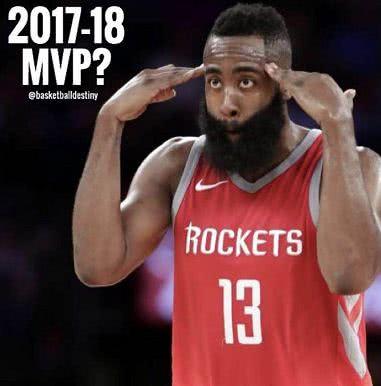 詹姆斯逆天数据引爆全联盟 哈登的MVP又悬了