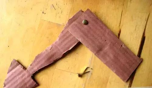 纸箱手工制作龙头图解
