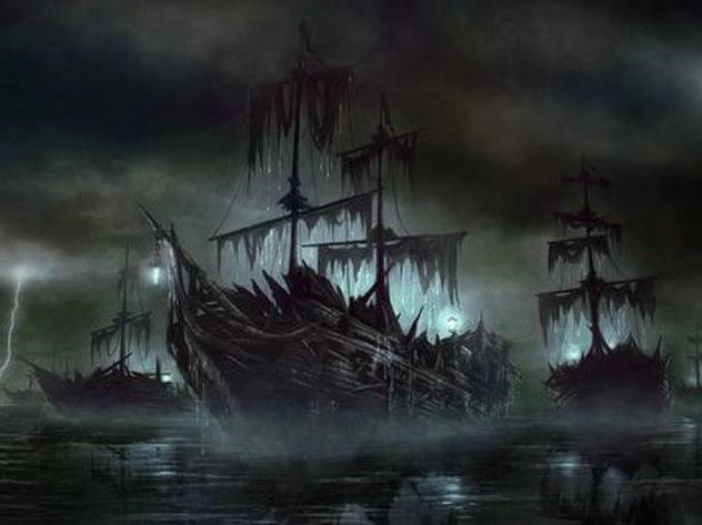 世界十大幽灵船事件,一件比一件更神奇