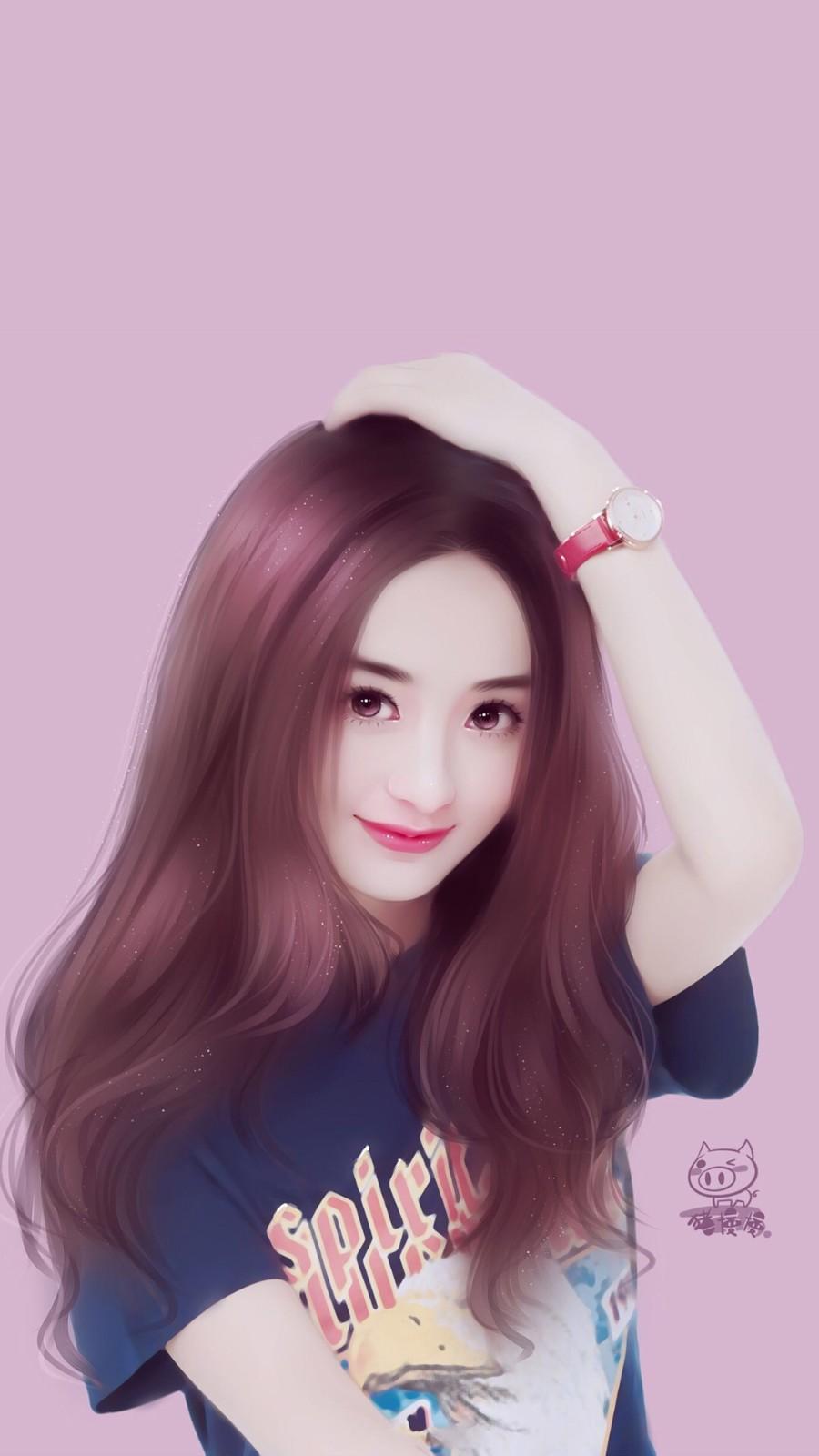 赵丽颖最新手绘图片合集,网友:太美了!