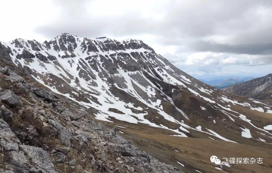 含生物矿化化石岩层的斯利普山