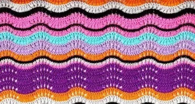 「编织技巧」最全钩针凤尾花集:裙子,披肩,毯子美了(附图)