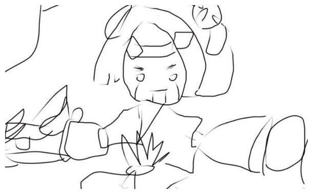 王者荣耀:玩家英雄手绘,鲁班有点草率!最后一个被天美
