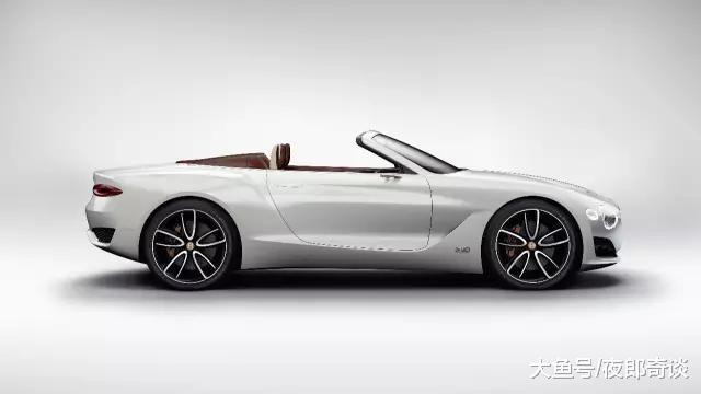 宾利涉足电动车市场, 全新电动轿跑续航500km, 让特斯拉汗颜!