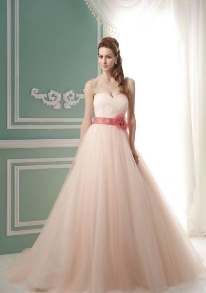 十二星座专属粉色婚纱,天蝎座迷雾仙子美,处女座华丽