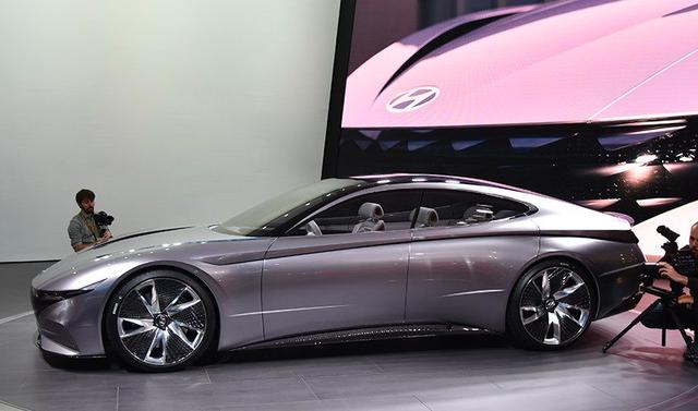 现代全新GT跑车!帅气不输保时捷Panamera,这量产谁还买特斯拉