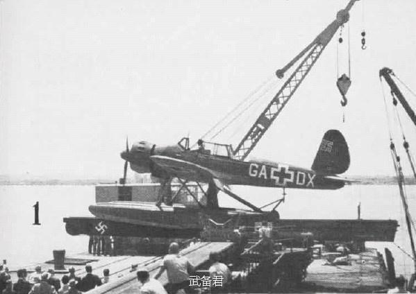 二战德国海军之眼、宝马级水上飞机: 阿拉道Ar 196