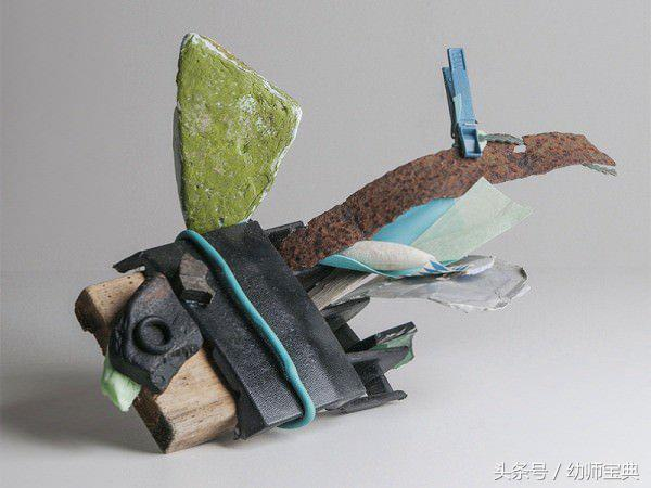 废旧物手工制作小鱼