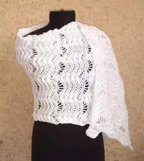 「编织技巧」最全钩针凤尾花集:裙子,披肩,毯子美了