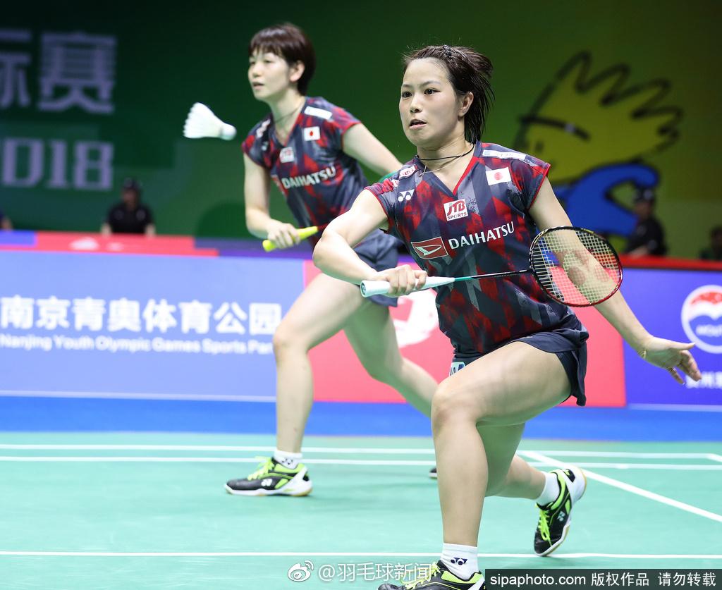 2018羽毛球世锦赛# 2号种子福岛由纪/广田彩花晋级四强,半决赛她们