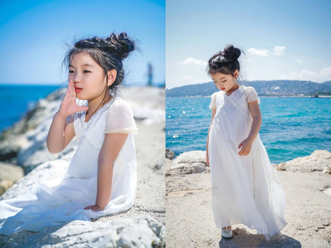 阿拉蕾成韩国最小公主?海边变小写真嘉宾,却因这原因戛纳童星演过的电影图片