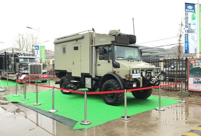 北京车展厉害的房车展示