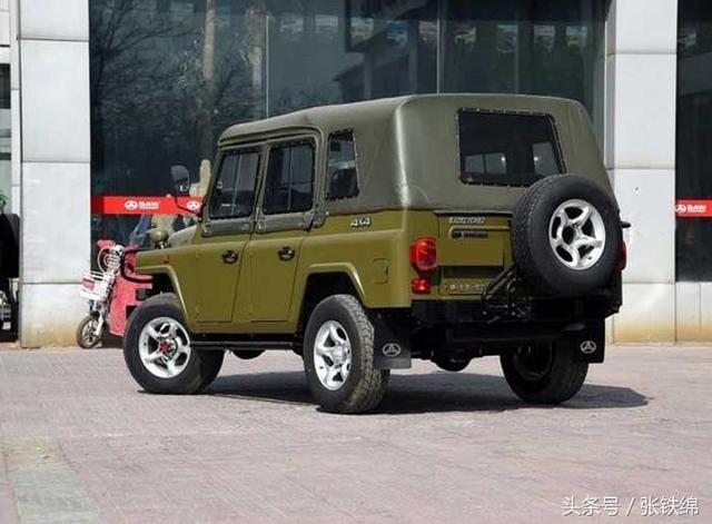 50年外观内饰不改!北京212换装三菱1.5T国6发动机