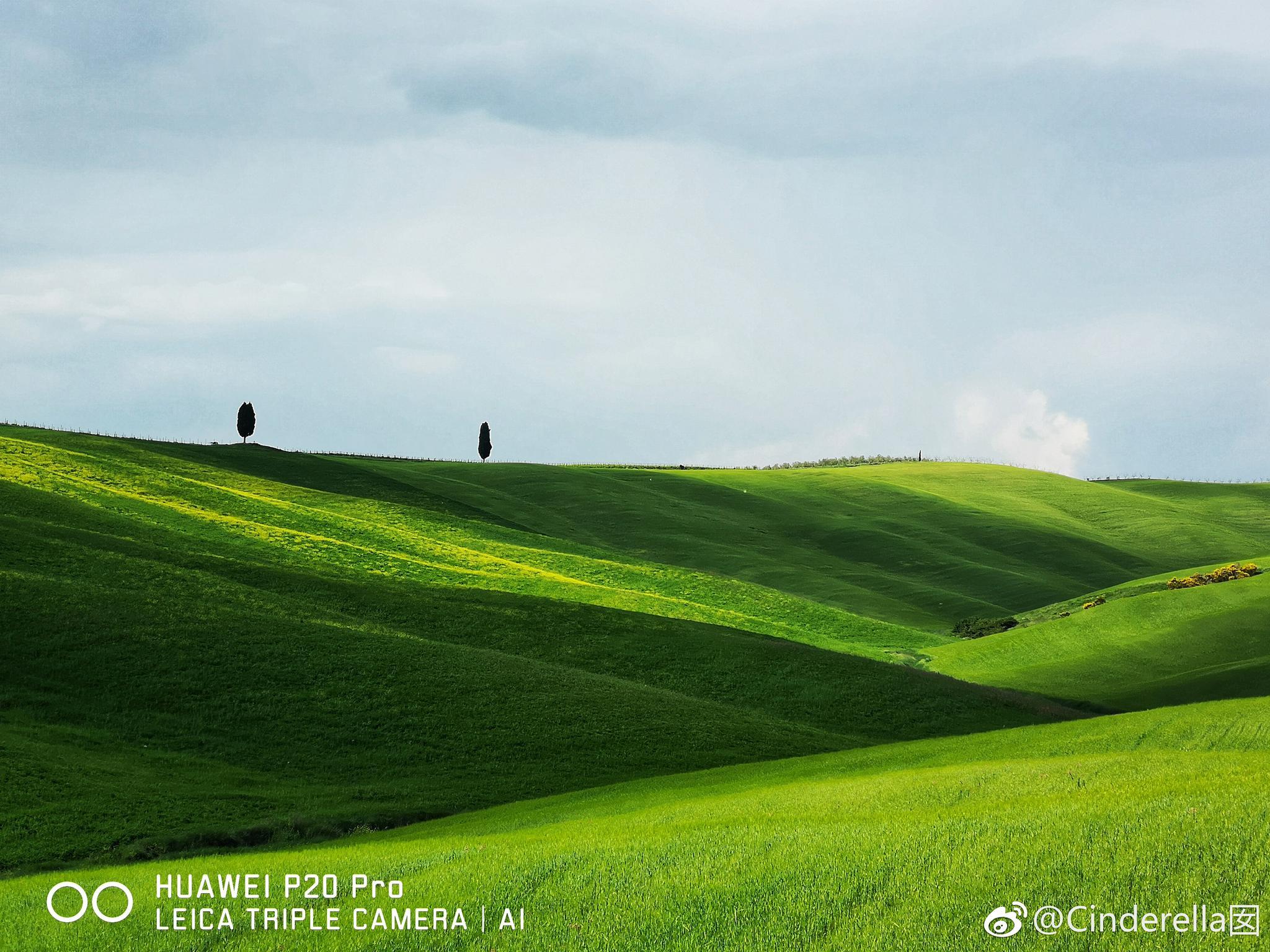 托斯卡纳艳阳下,华为p20pro随手拍,新手菜鸟都能把风景拍成诗图片