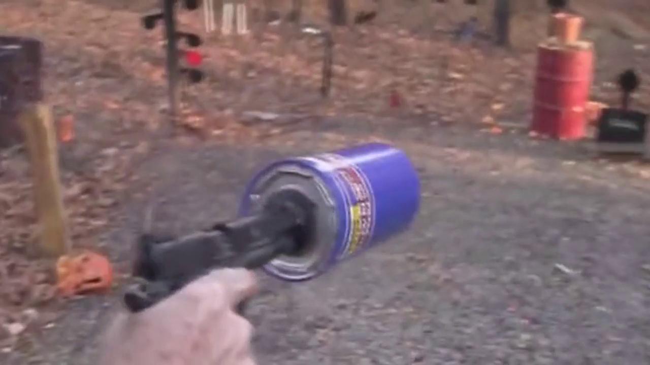 厉害了,机油滤清器还能当消音器用效果真是听不到发射声音