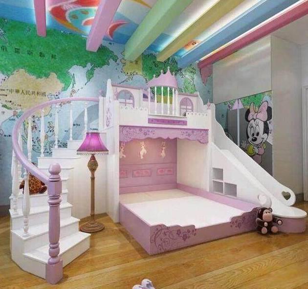 十二星座专属创意儿童床图片