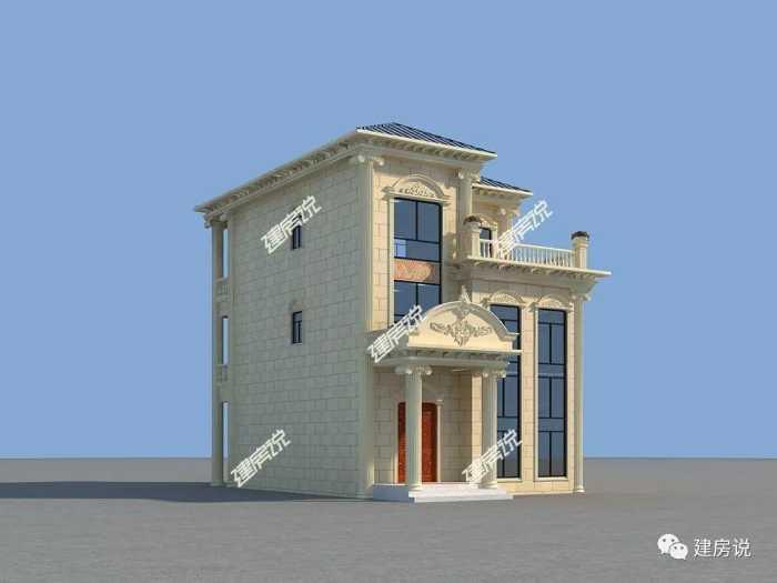 知道你家宅基地小,3款90平米的图纸视频拿去乐高积木拼装别墅别墅图片
