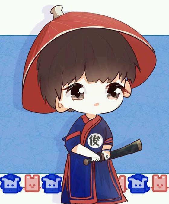 手慢无! 王俊凯的卡通动漫图出来了, 快来围观吧!