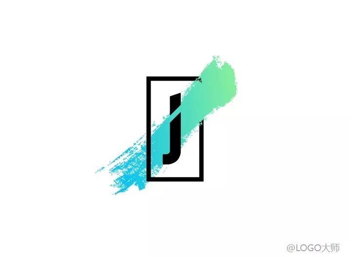 j字母元素的灵感logo设计,你更喜欢哪个?图片