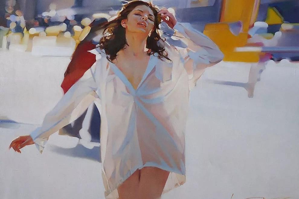 色人体高清_俄罗斯油画人体艺术,色光之美