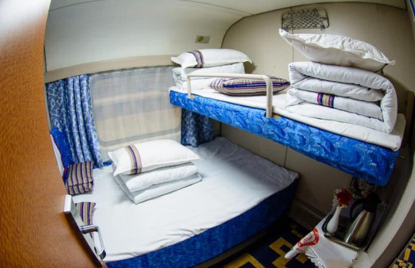 直击火车卧铺的五大等级, 从普通到奢华