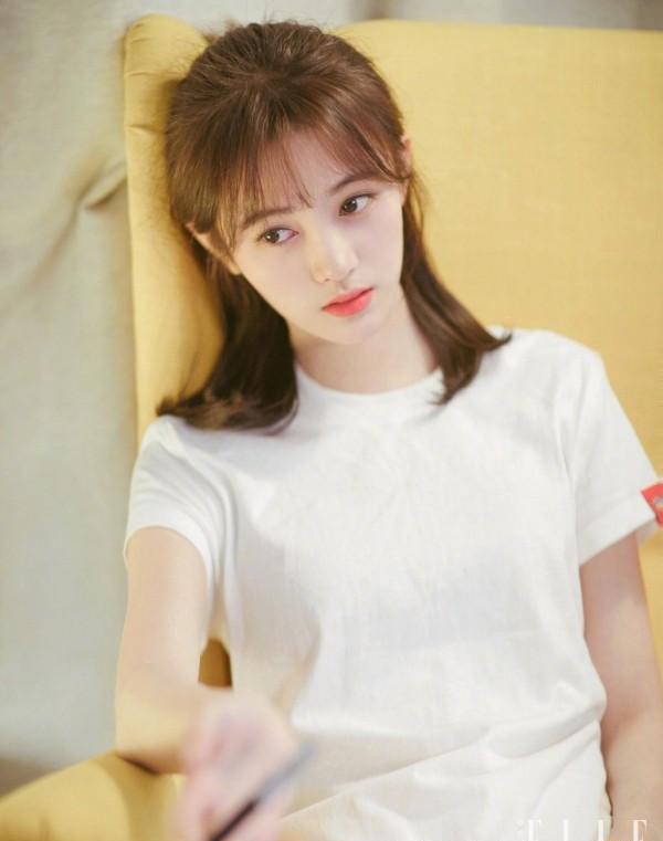 鞠婧祎拿下snh48总选第一,剪短发的四千年美少女你还爱吗?图片