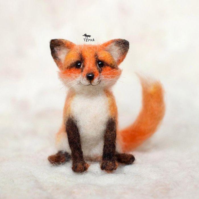 可爱的毛毡小动物 | 俄罗斯艺术家 tyorka