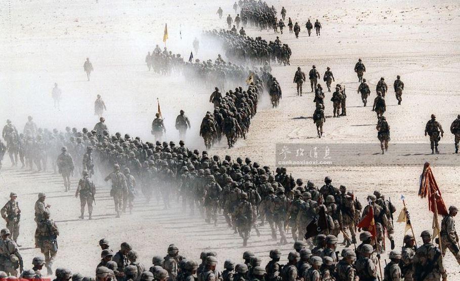 高清历史照片 直击萨达姆百万大军这样被美军击溃!