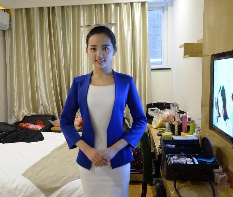 山东舞女的艺考路:为圆女孩梦15天考15所鞋子生学校空姐炫qq图片