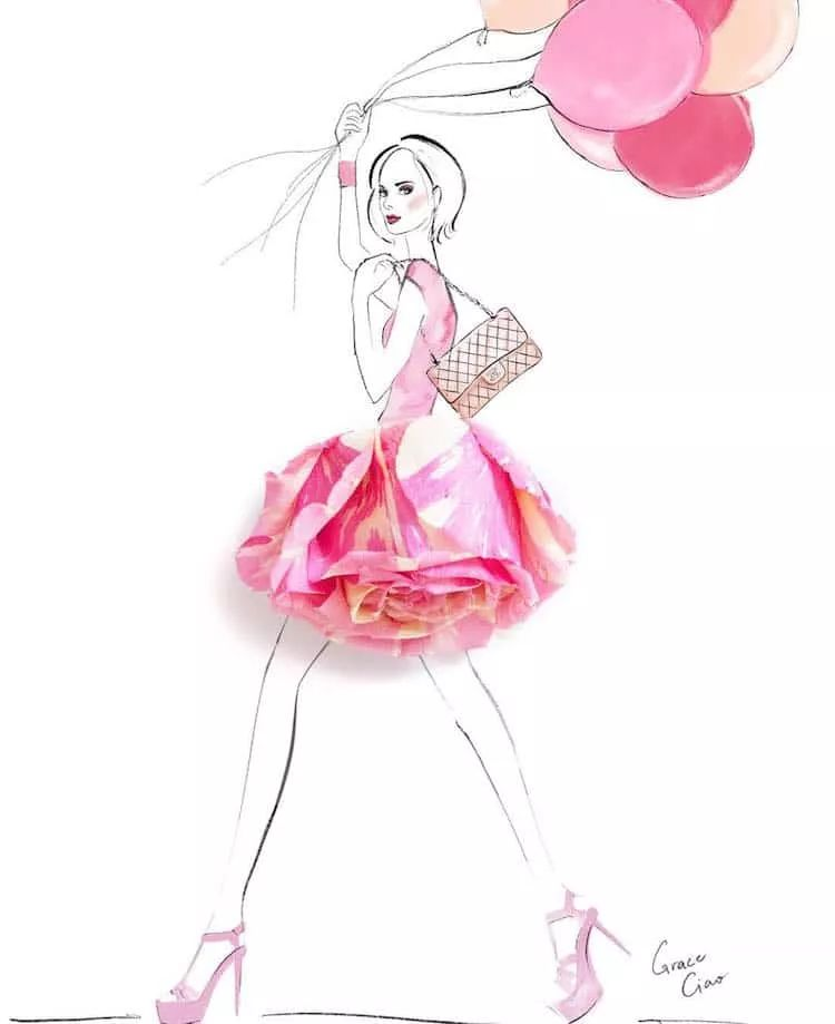简单画画裙子步骤