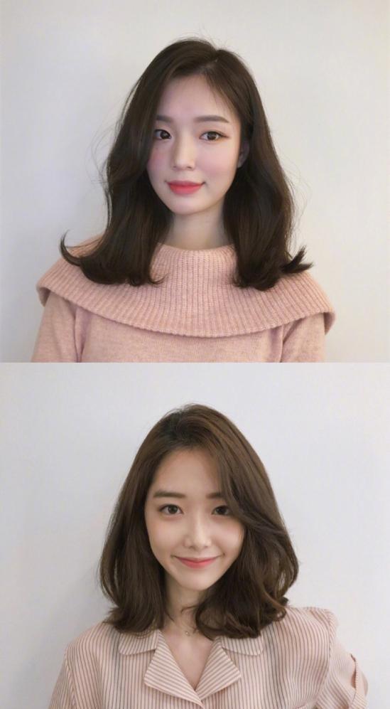 大波浪卷发和微卷发型都是女生发型中非常流行的款,像这样简单披肩更图片