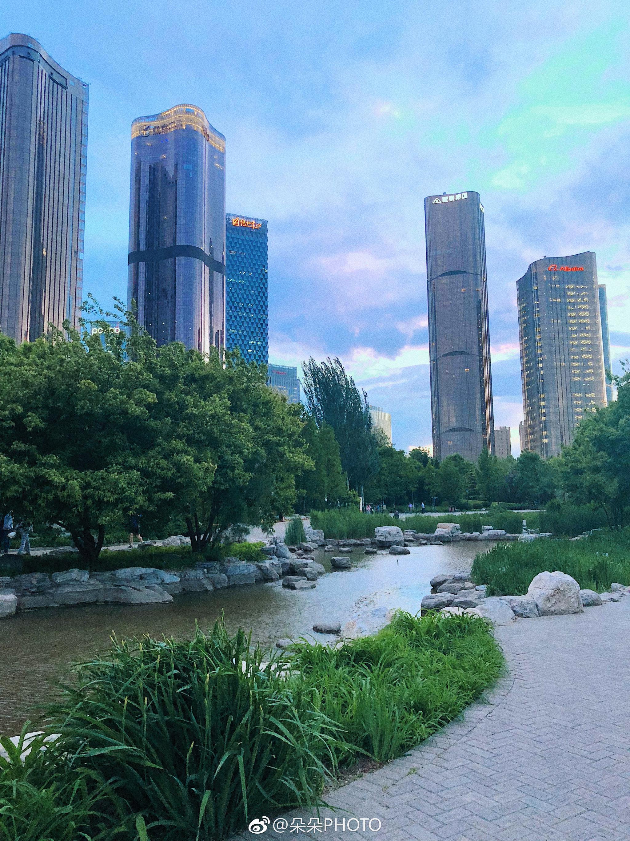 Get一个朝阳外景拍摄地儿:大望京公园,人少景新