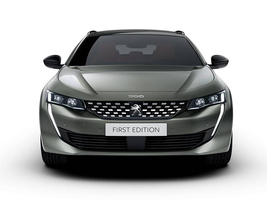 标致发布508 PHEV高性能版车型官图 更加运动
