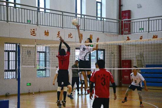 上海名校四大高中高中对抗赛录取举行分数线排球高唐图片