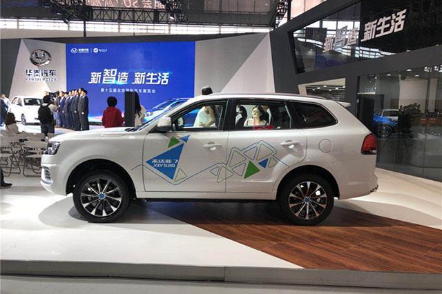 华泰这次开窍了!北京车展上新车,续航400km,国产终于全面开花