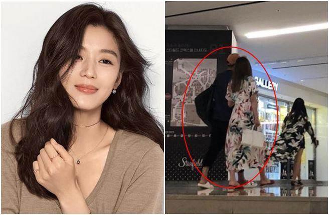 全智贤生二胎后现身,这颜值和身材,稳坐韩国第一美女的位置!