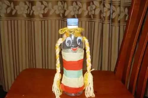 喝完的矿泉水瓶废物利用,幼儿园手工全都有,绝对实用