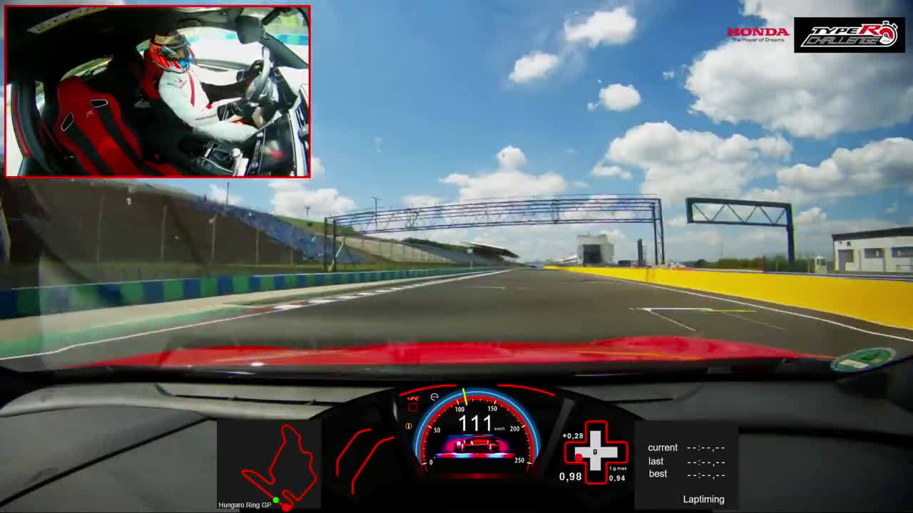 本田思域Type R创Hungaroring赛道圈速纪录