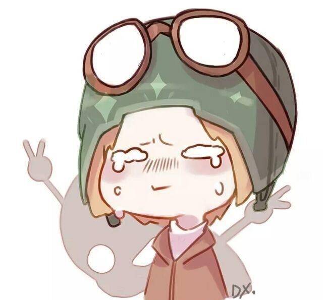 第五人格q版头像,很q很q的那种!红蝶姐姐脸好圆!