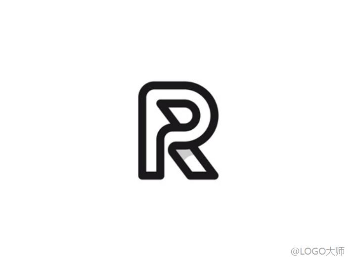 一组r元素的logo设计欣赏图片