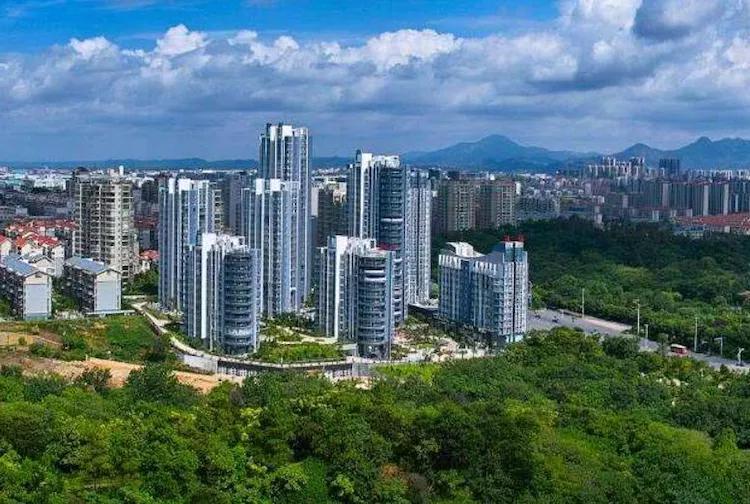 江西第二城赣州:城区高楼林立,发展得真快,你喜欢这