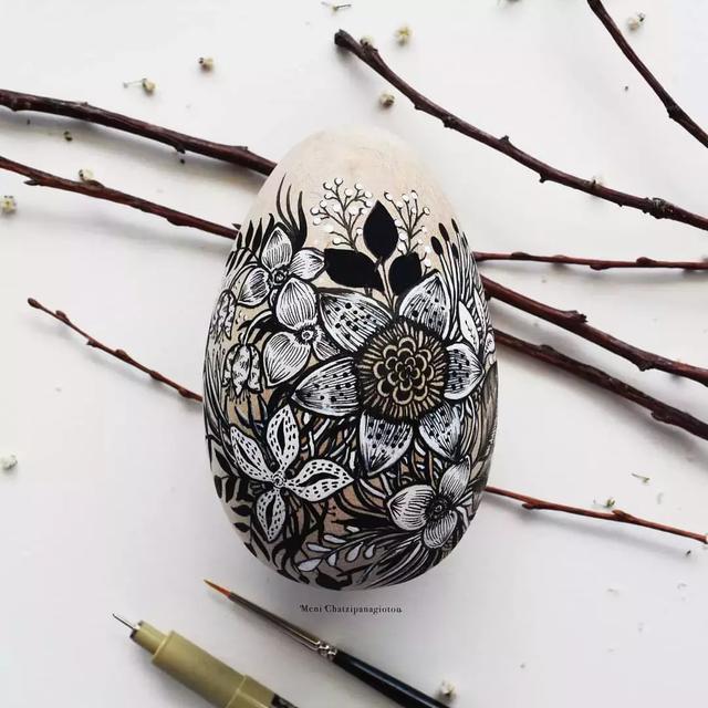 铅笔手绘古代饰品